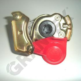 PALM COUPLING  AUTOMATIC RED 22X1.5 0003