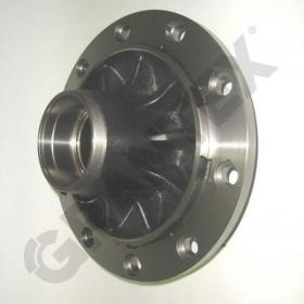 WHEEL HUB BPW ECO 6.5-9 TONS WHEEL CAP 125X2  0022