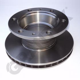BRAKE DISK IVECO   FRONT REAR  DIAMETER OUTER 304 INNER 165 HEIGHT 129  0018