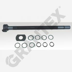 S CAMSHAFT KIT SAF 680 RIGHT WITH 38MM 0096